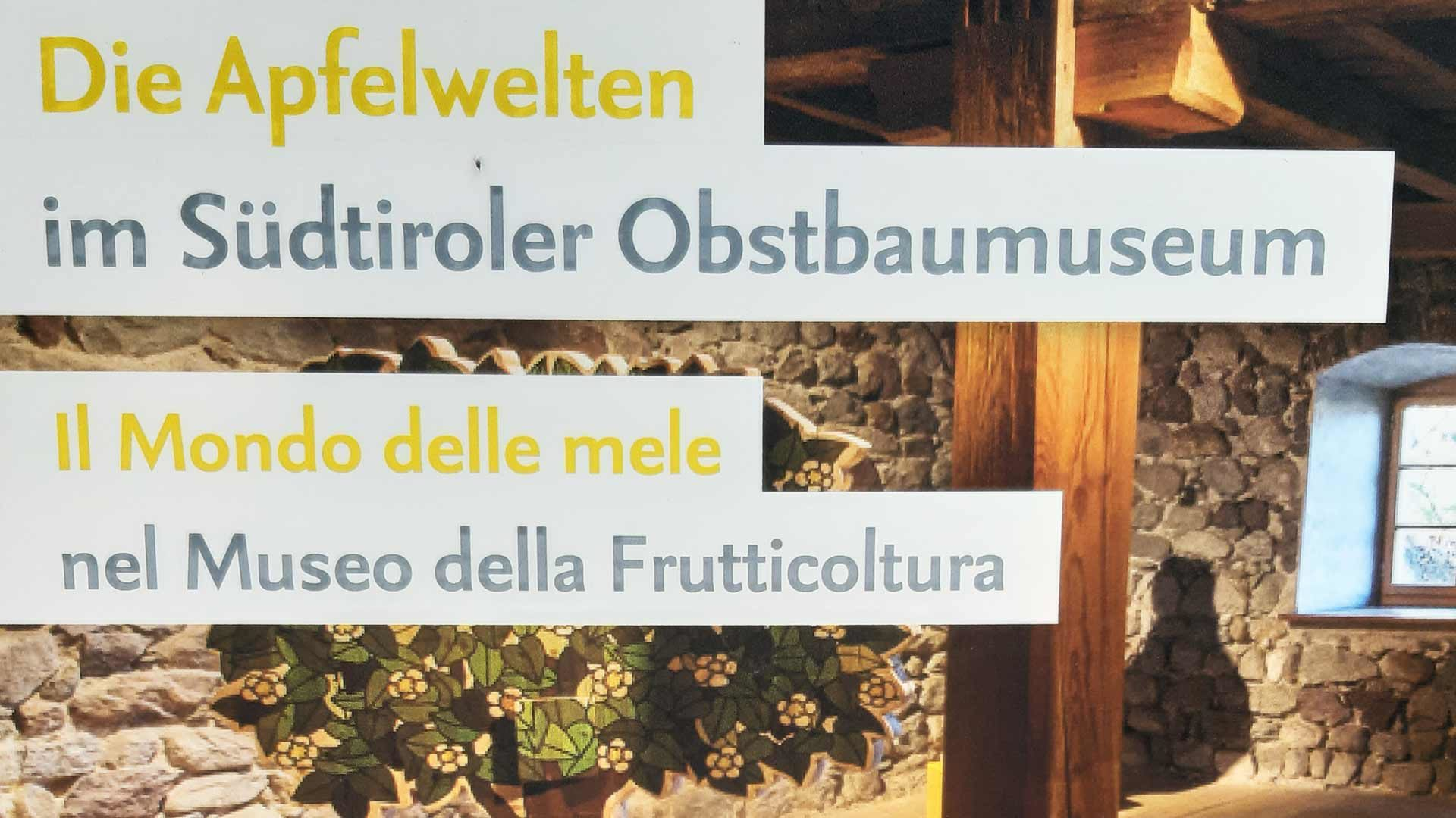Obstbaumuseum in Südtirol