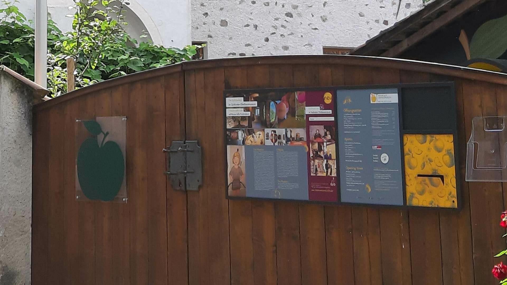 Obstbaumuseum - Eingang