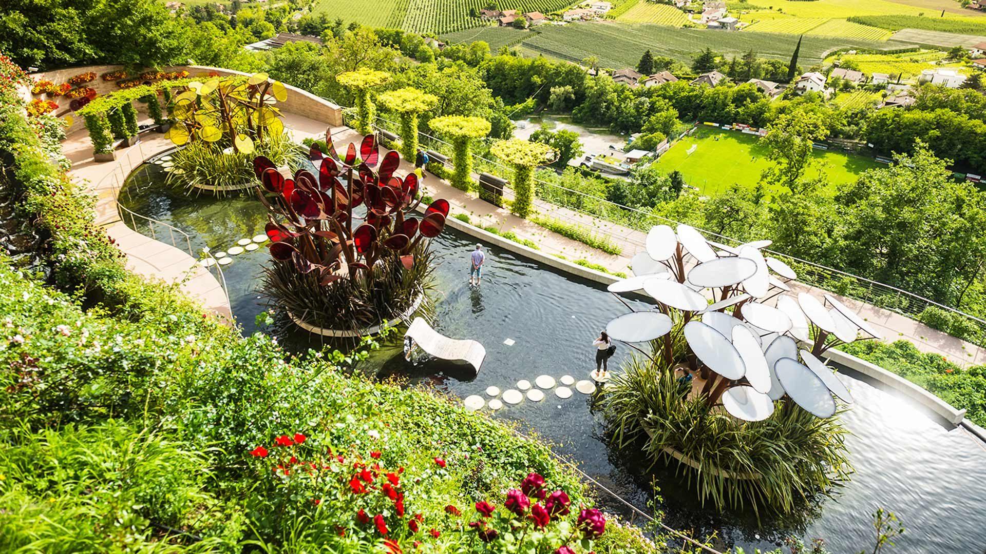 Der Garten für Verliebte