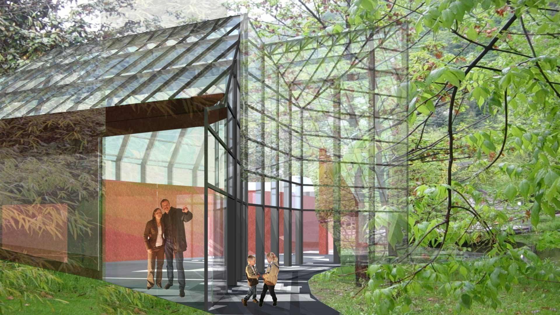 Gärten von Schloss Trauttmansdorff - Das Glashaus