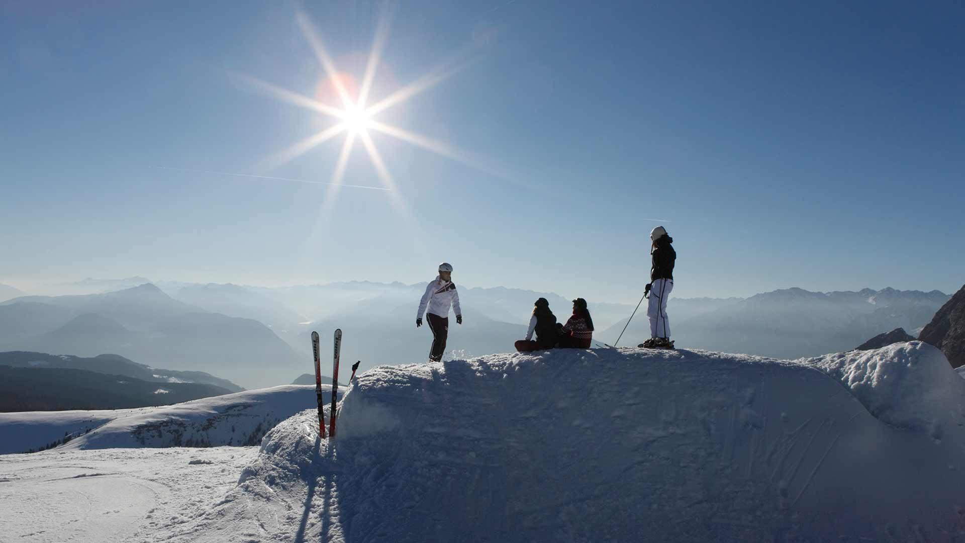 Skifahren - Meran 2000