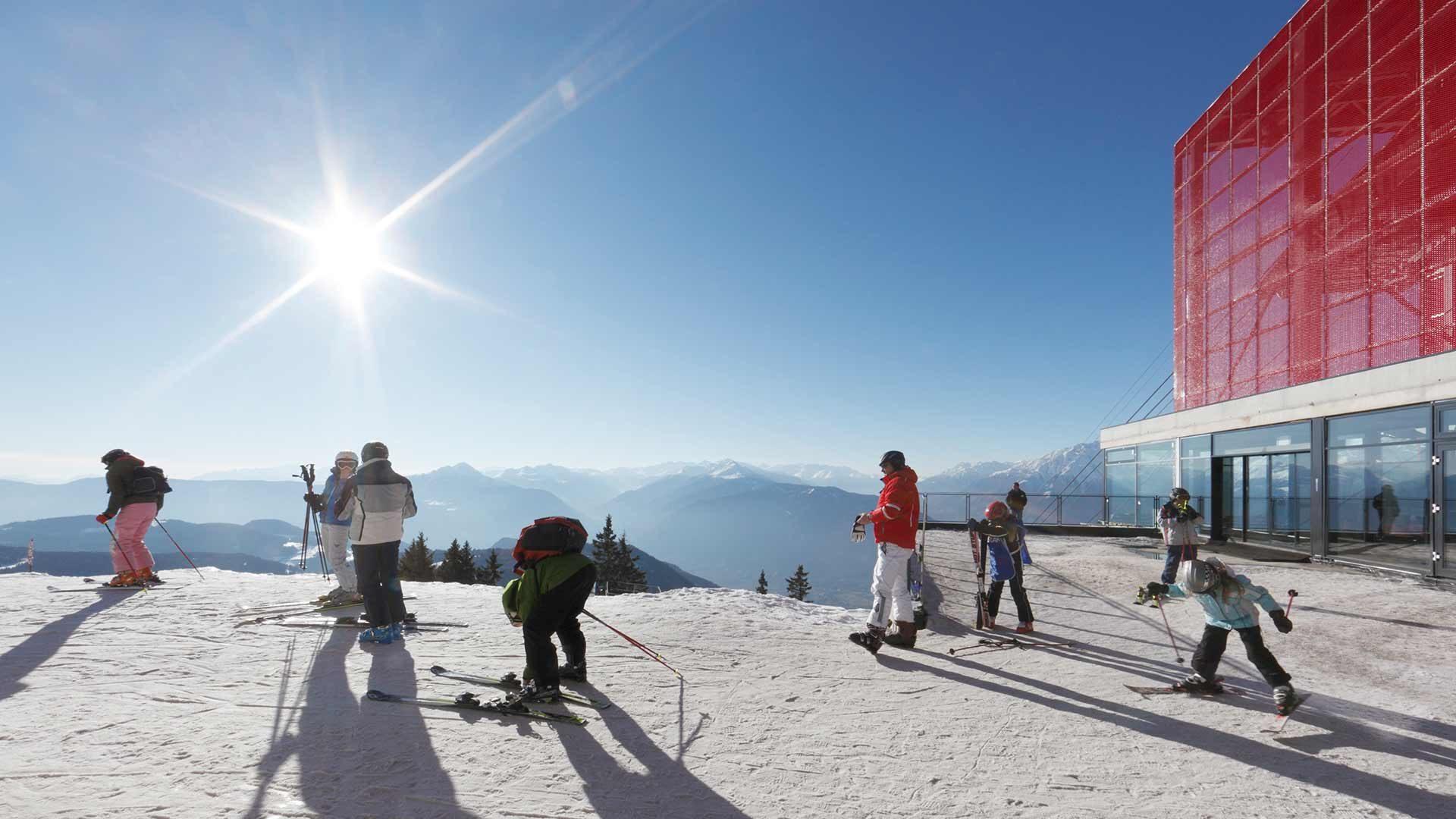 Bergstation - Skigebiet Meran 2000
