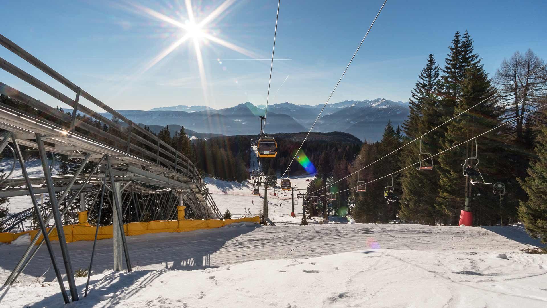Skigebiet Meran 2000 - Skifahren