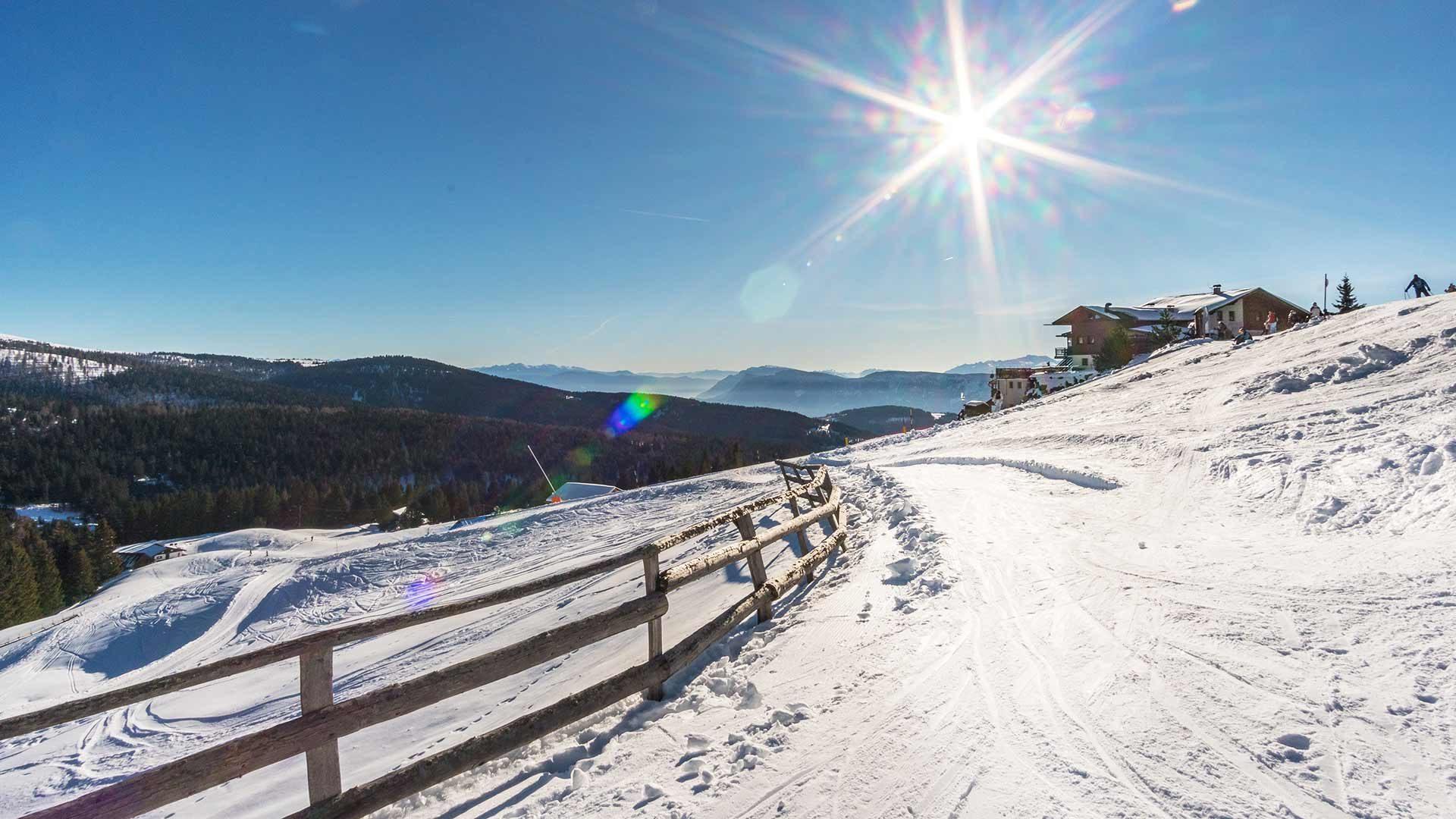 Skigebiet Meran 2000 - Panorama