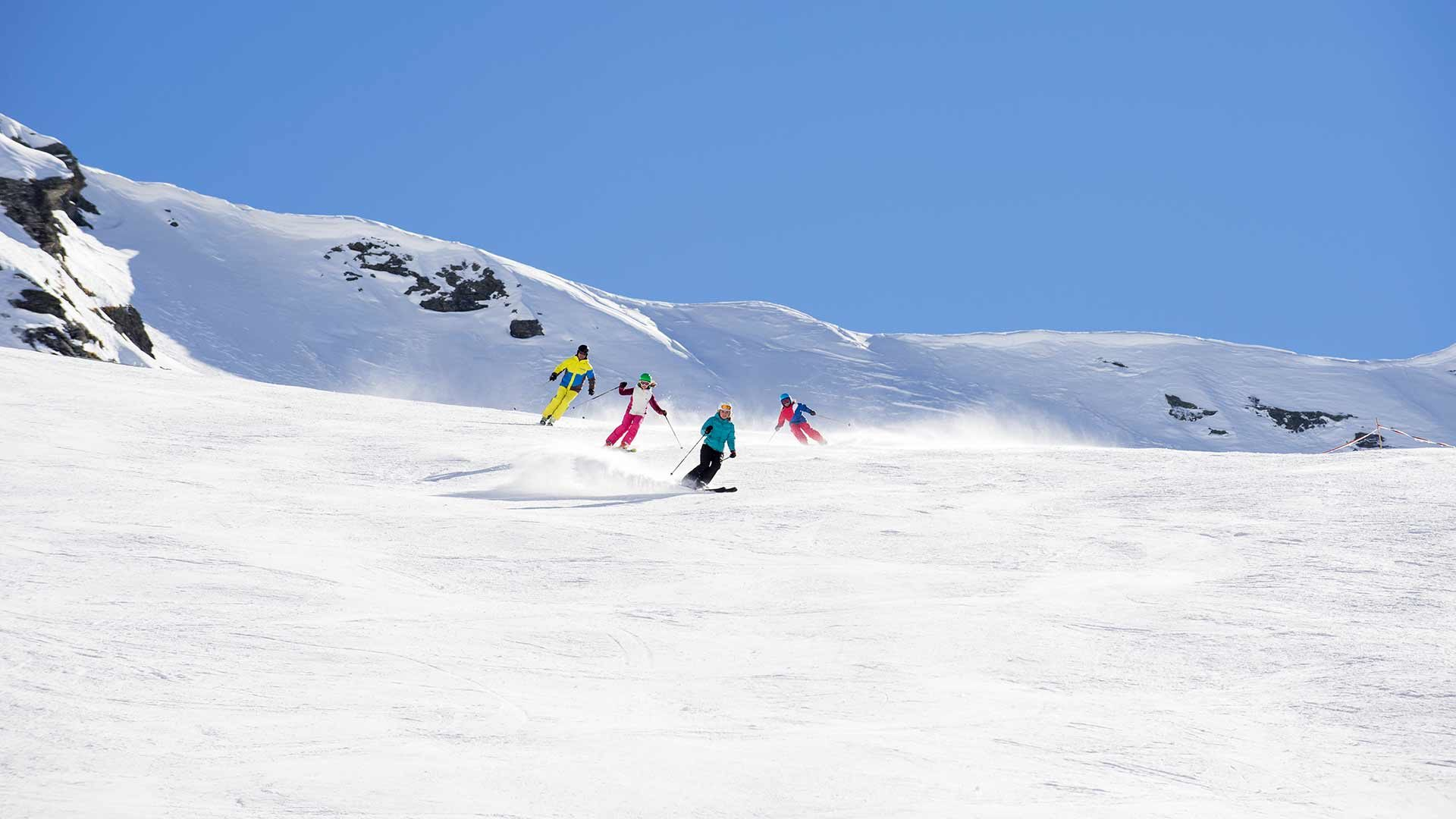 Skigebiet Pfelders - Winterurlaub