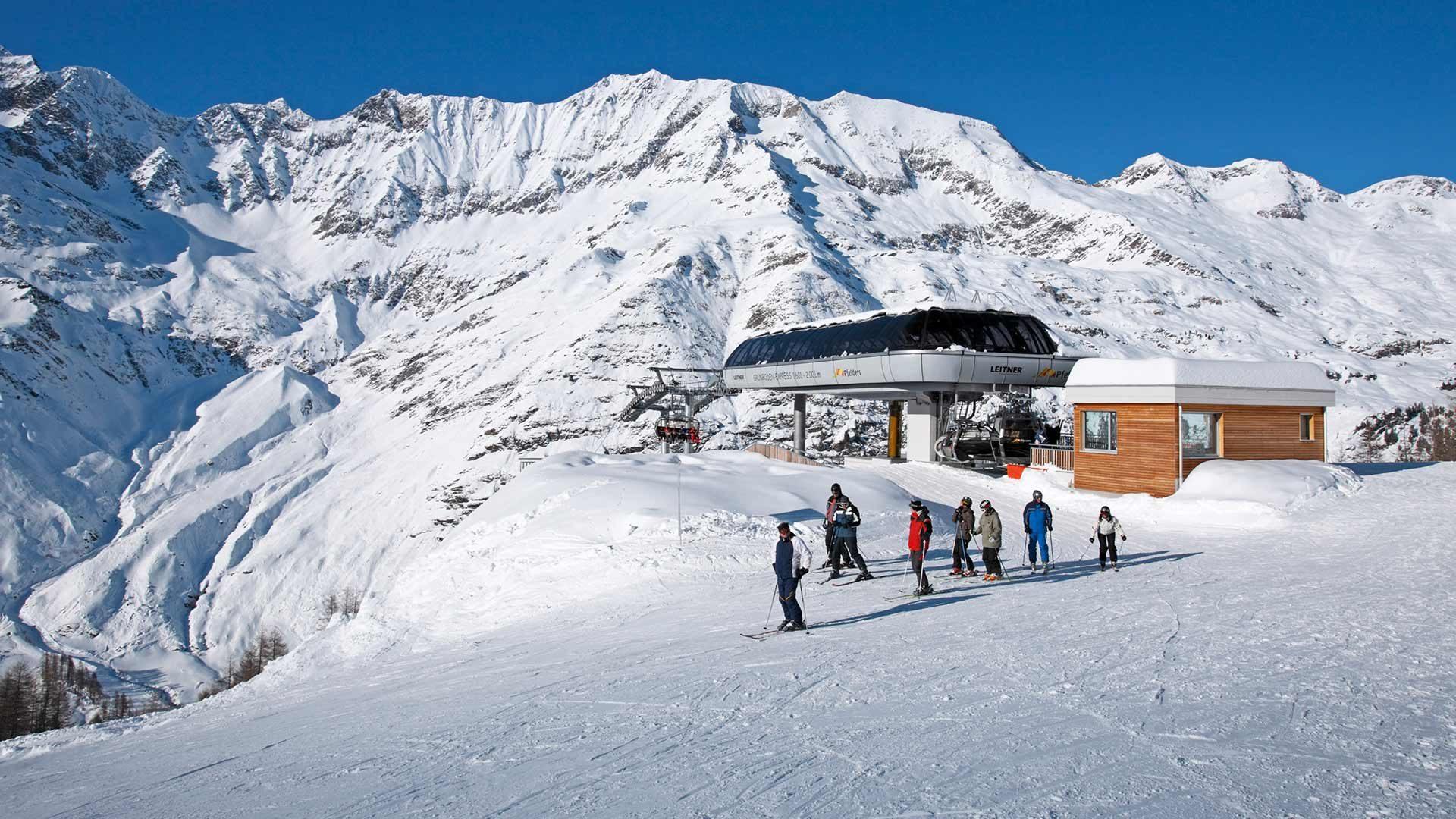 Skigebiet Pfelders - Skifahren