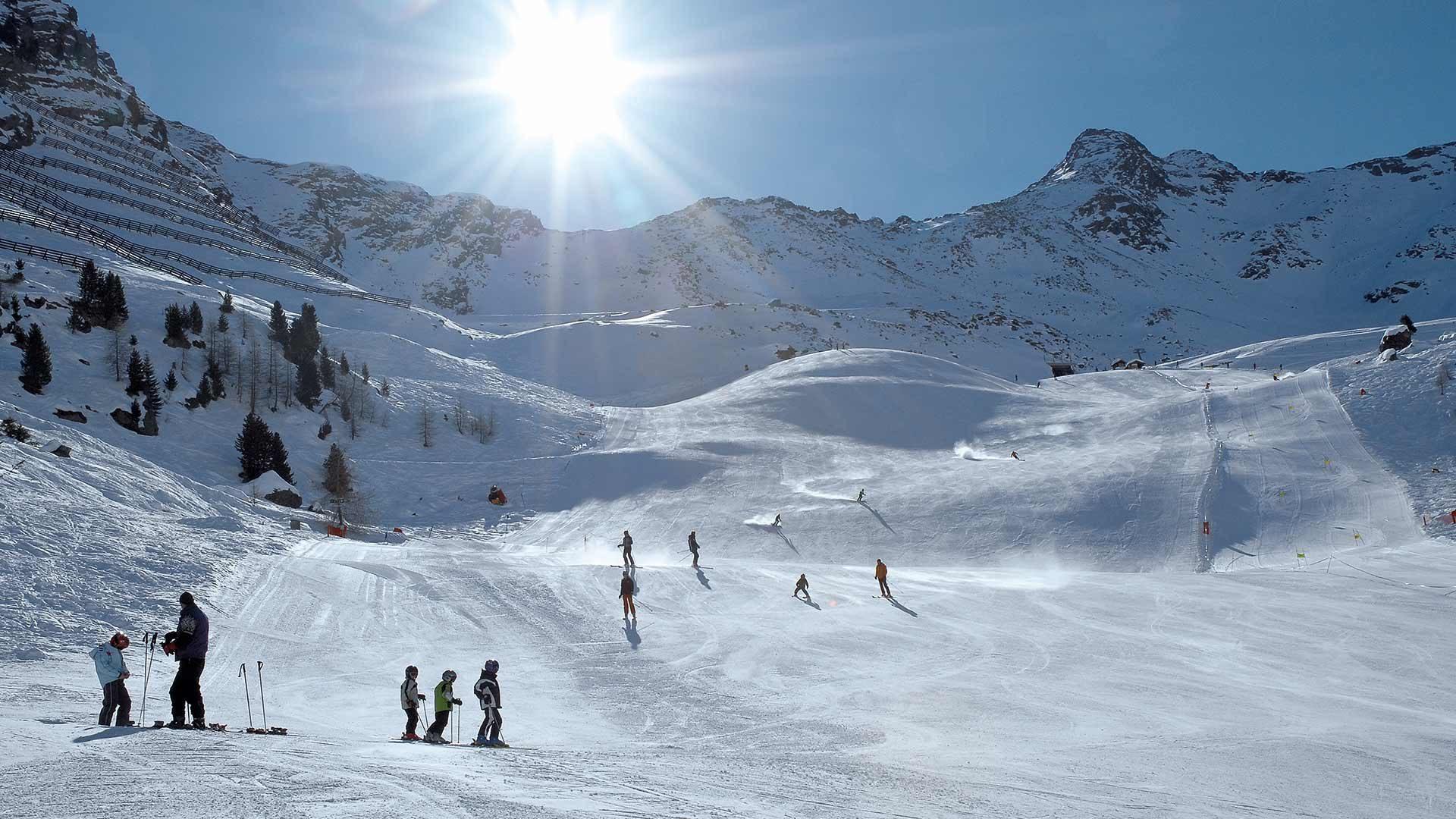 Skigebiet Pfelders im Passeiertal