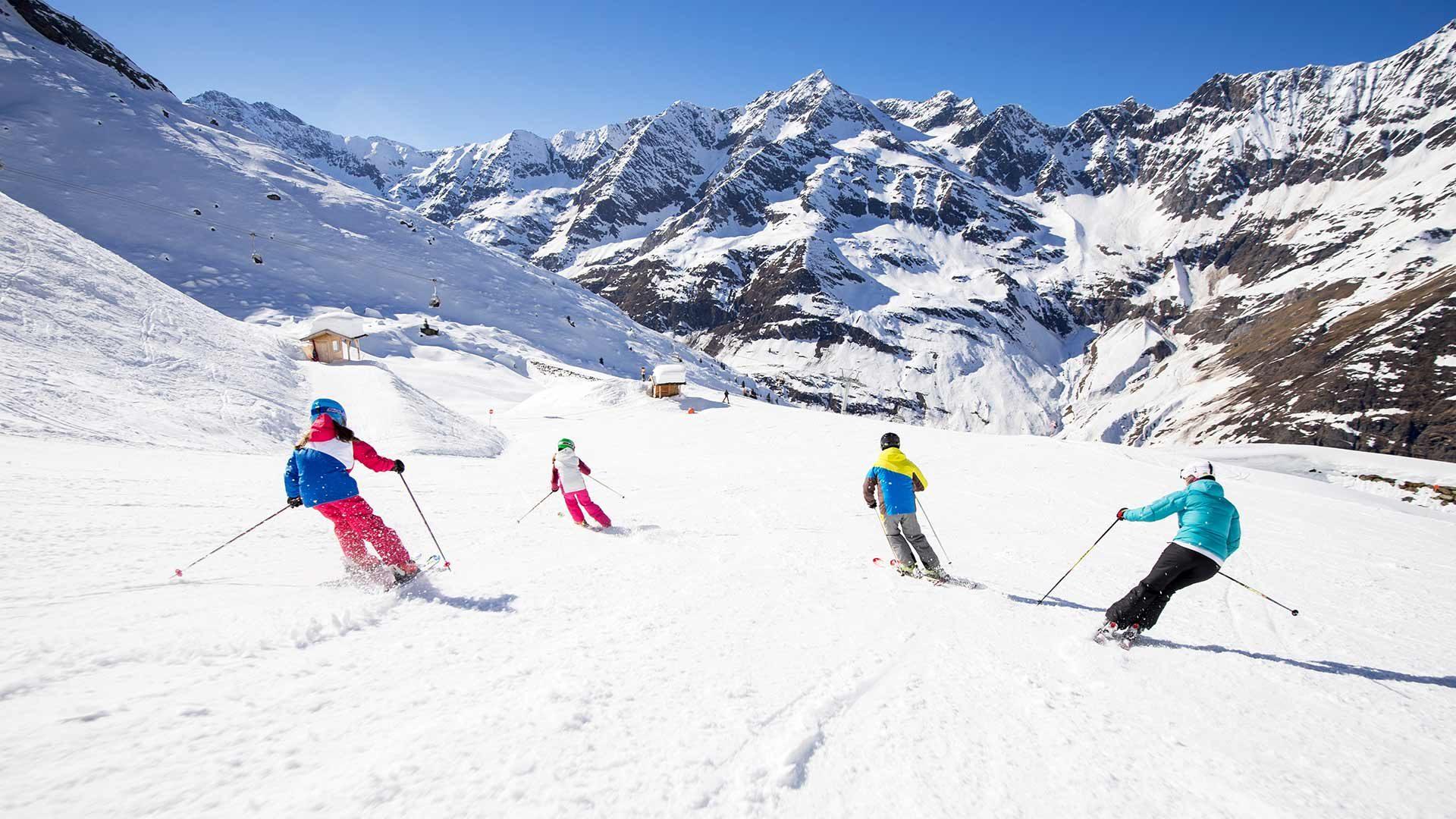 Skifahren - Skigebiet Pfelders