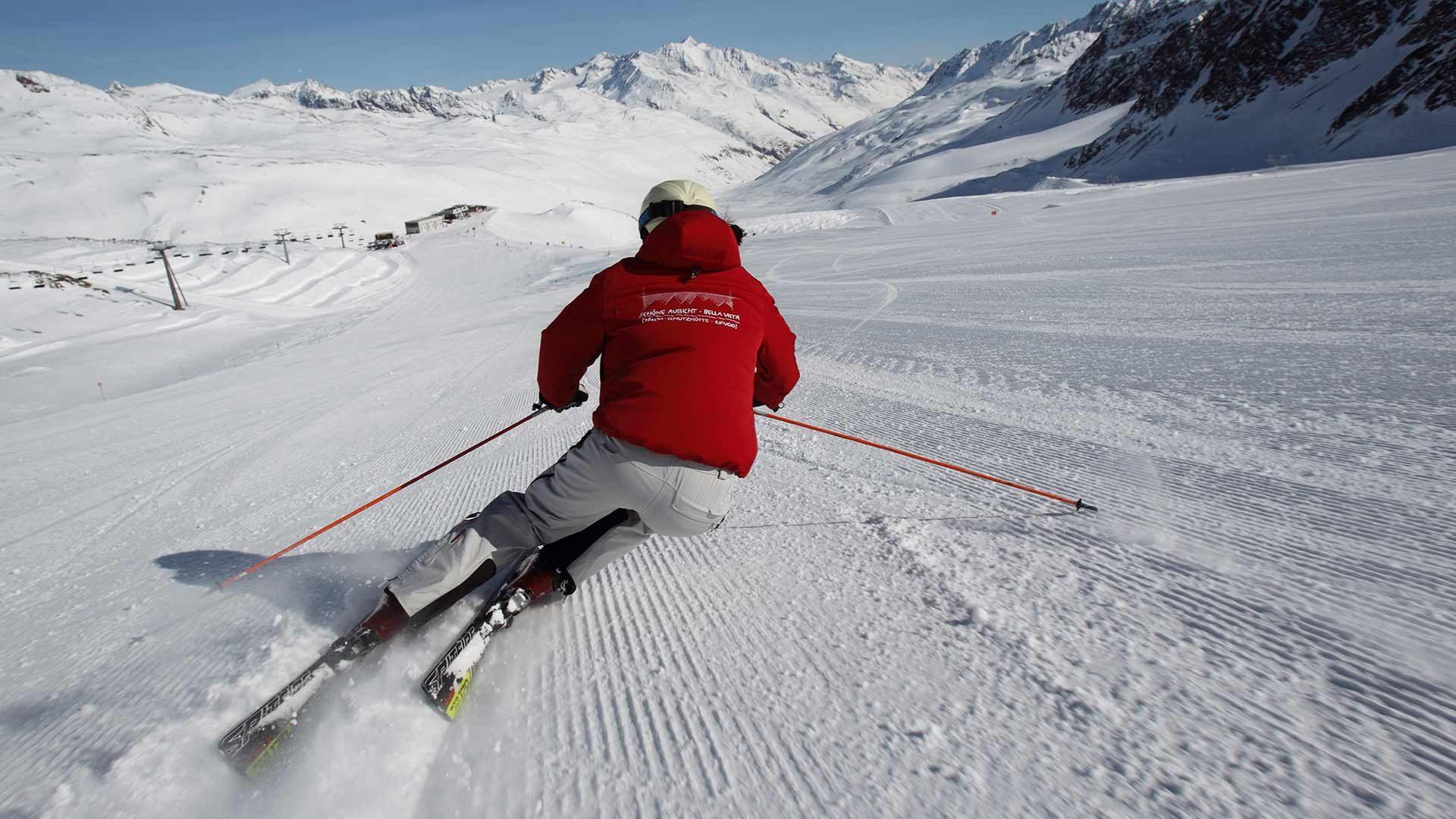 Skigebiet Schnalstaler Gletscher - Skifahren