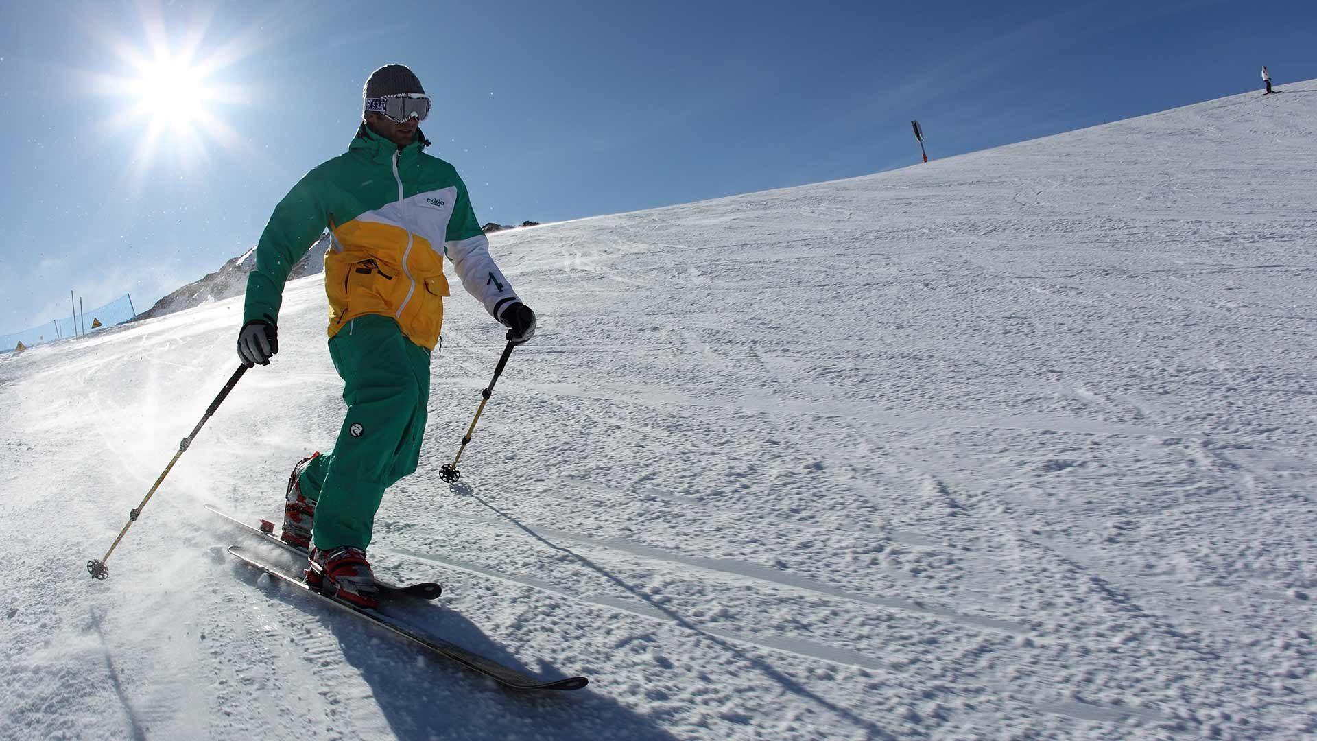 Schnalstaler Gletscher - Skifahren