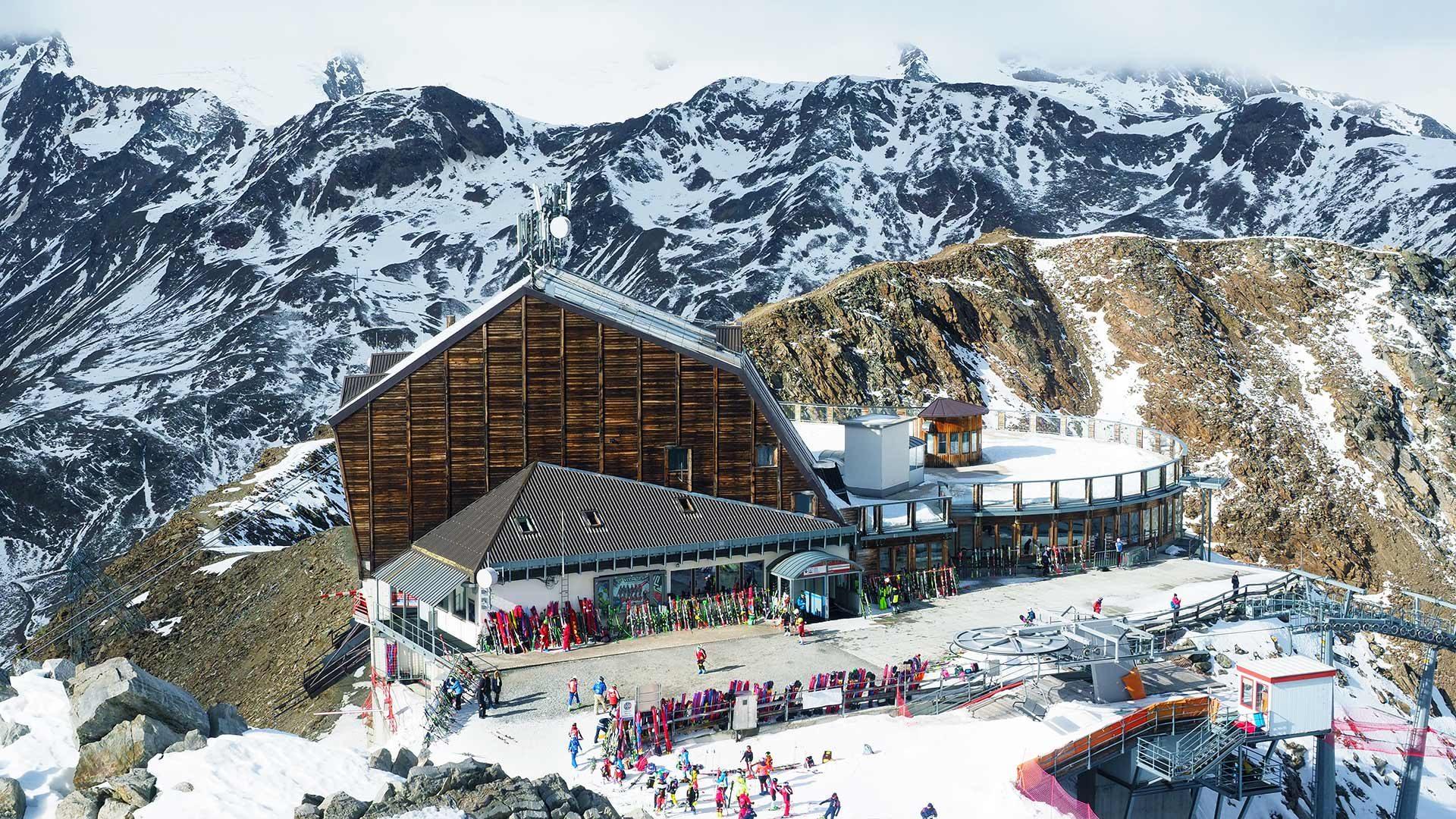 Schnalstaler Gletscher - Bergstation