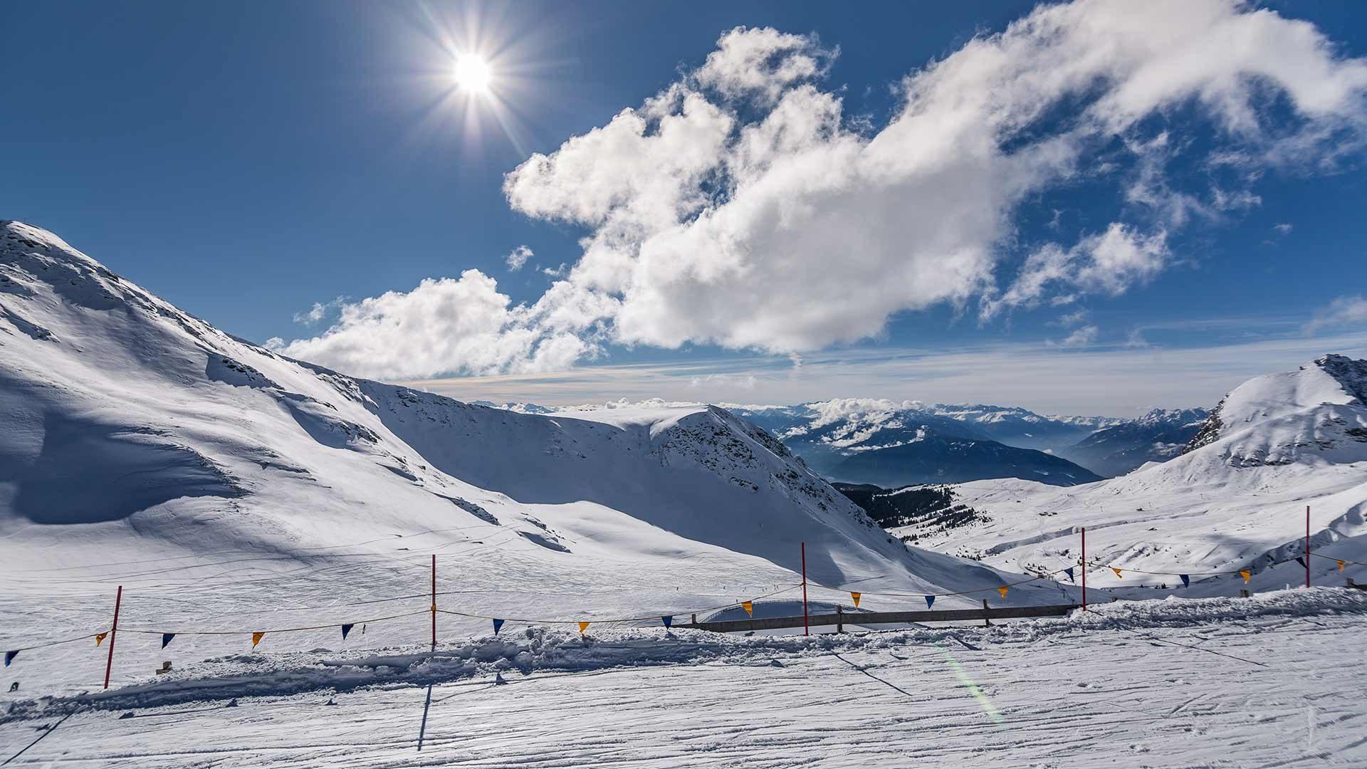 Panorama - Skigebiet Schnalstaler Gletscher