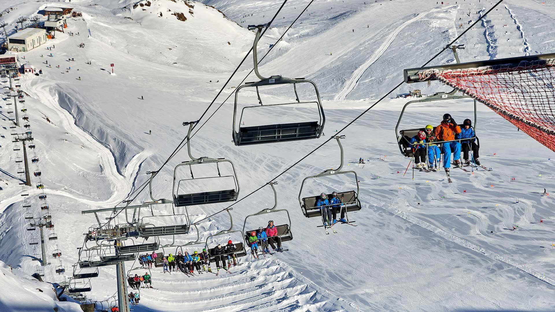 Skigebiet Schnalstaler Gletscher, Südtirol
