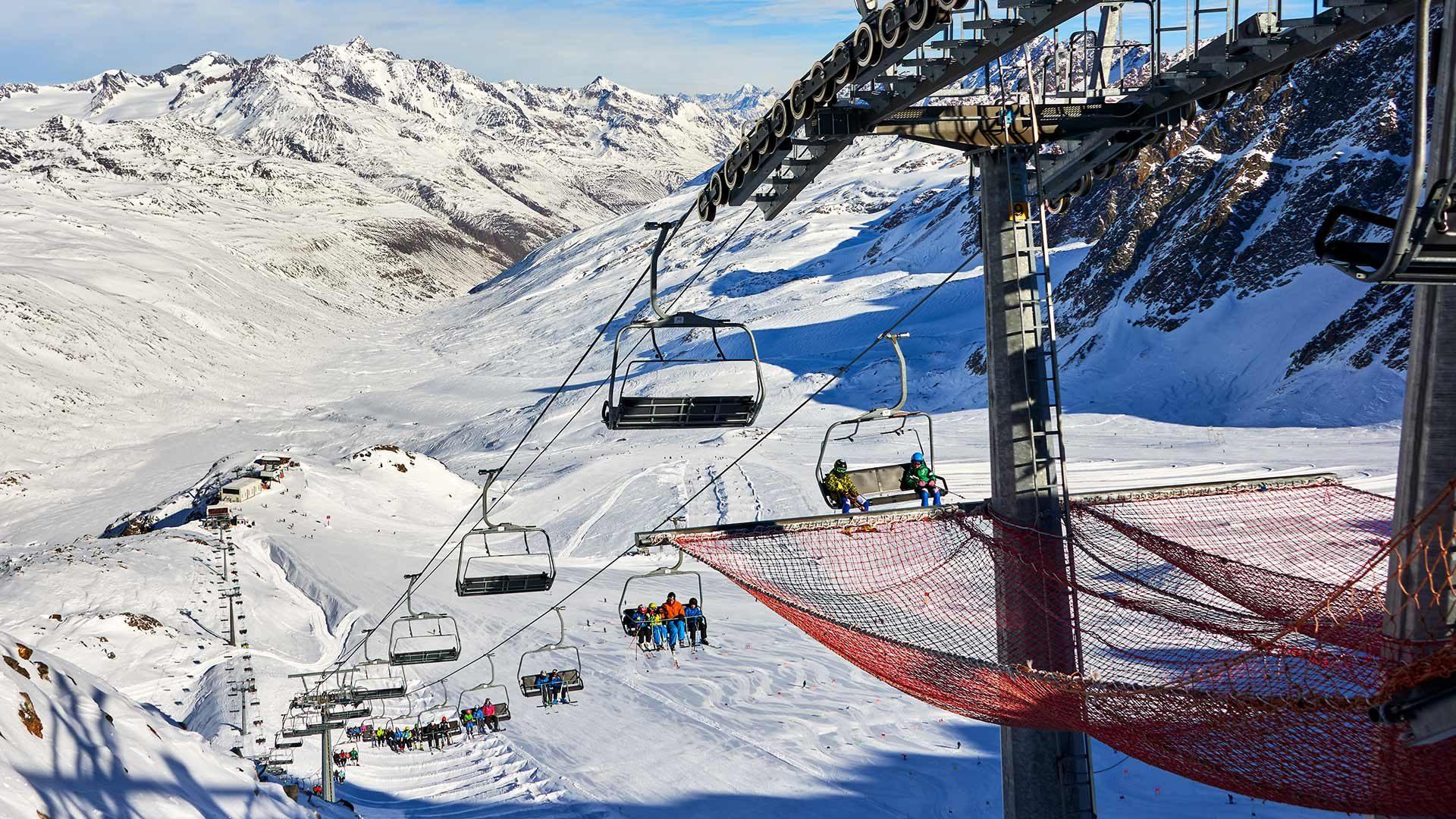 Schnalstaler Gletscher - Skigebiet