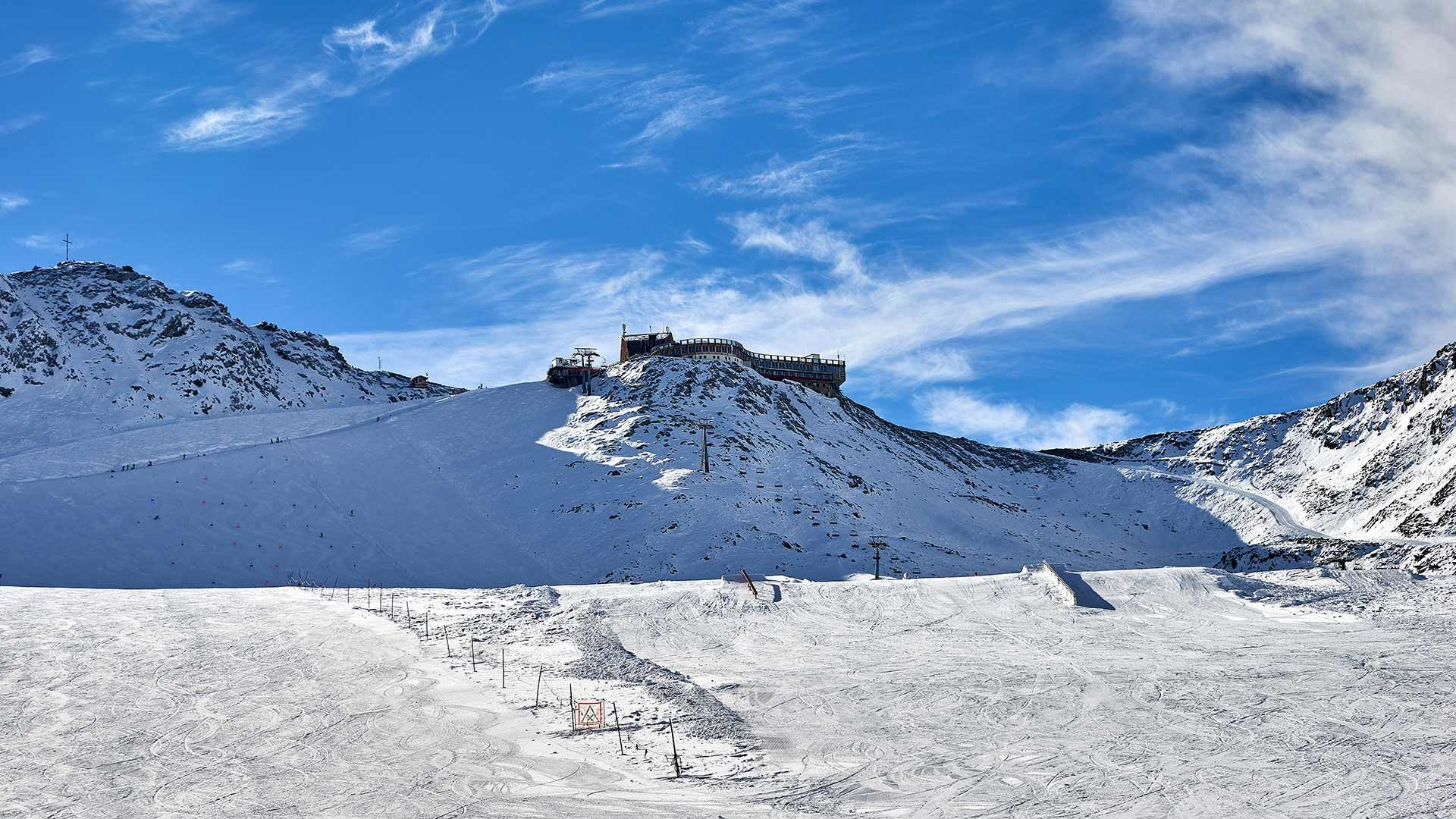 Skigebiet Schnalstaler Gletscher - Bergstation