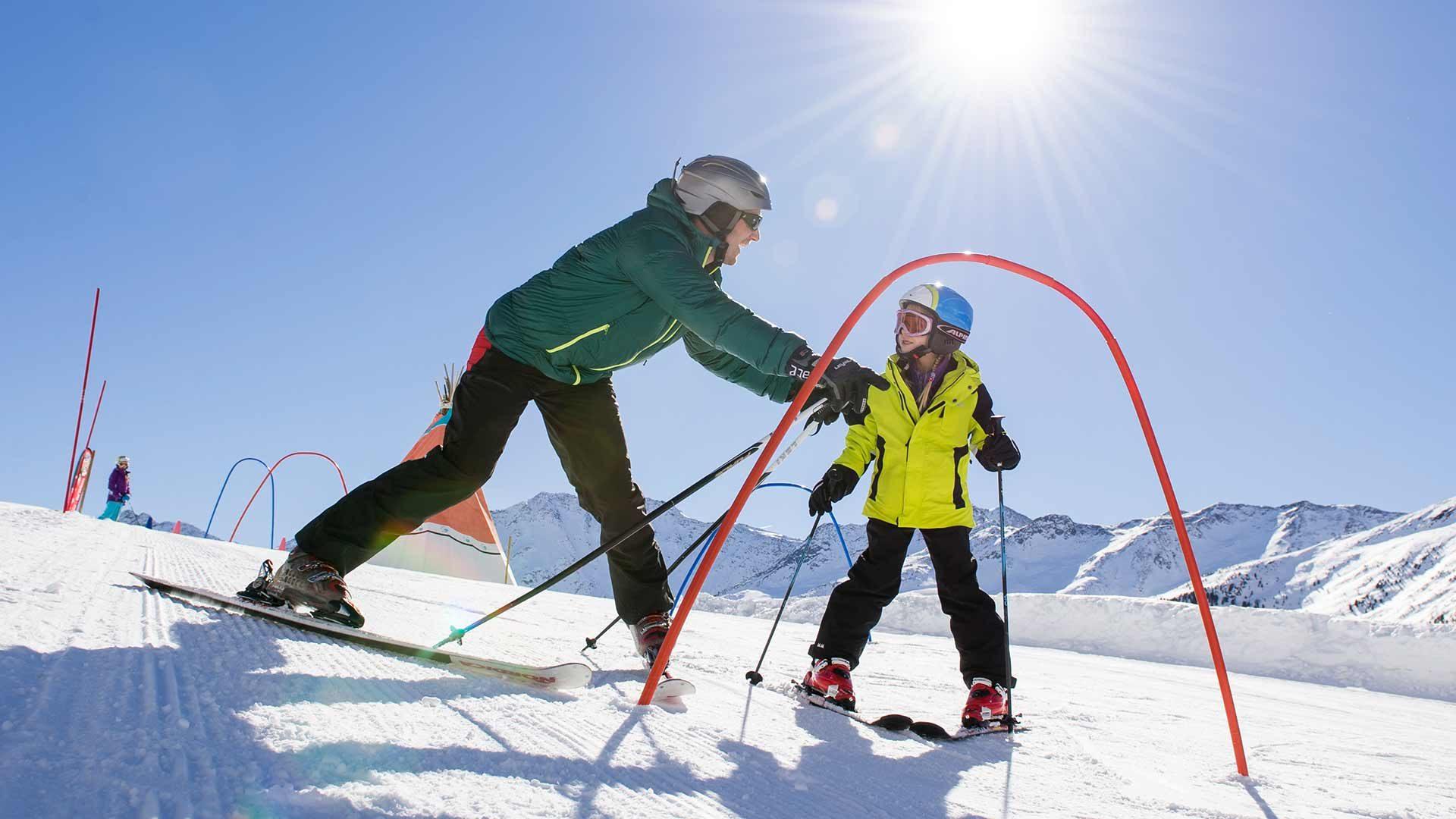 Skigebiet Schnalstaler Gletscher - Skifahren lernen