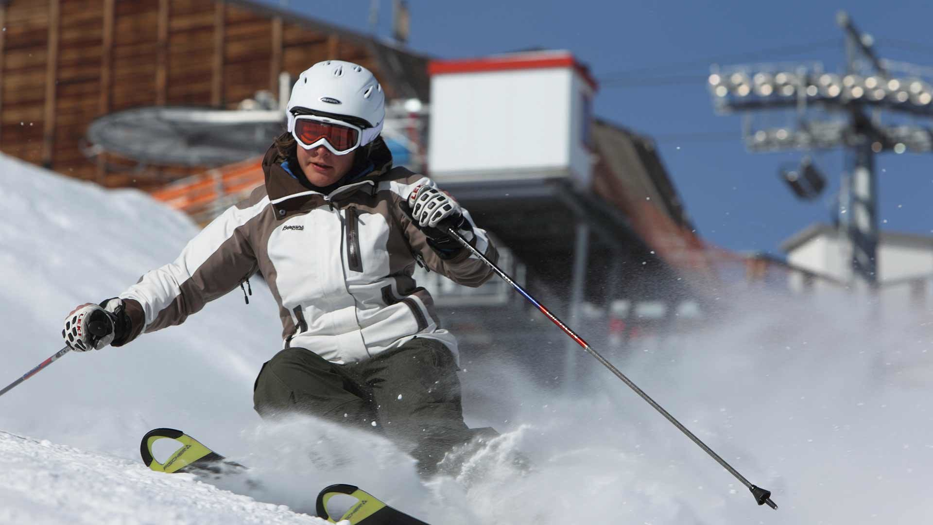 Skifahren - Schnalstaler Gletscher
