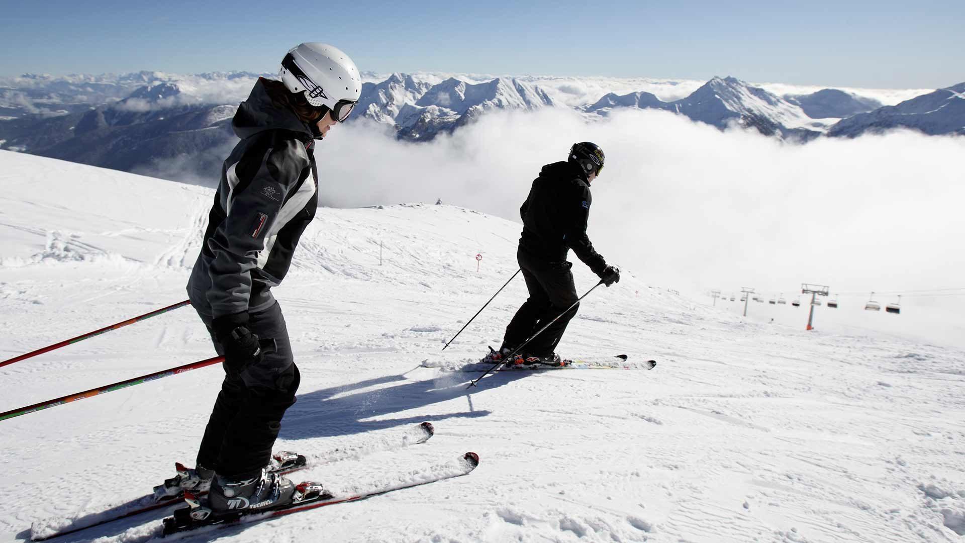 Skifahren - Skigebiet Schwemmalm