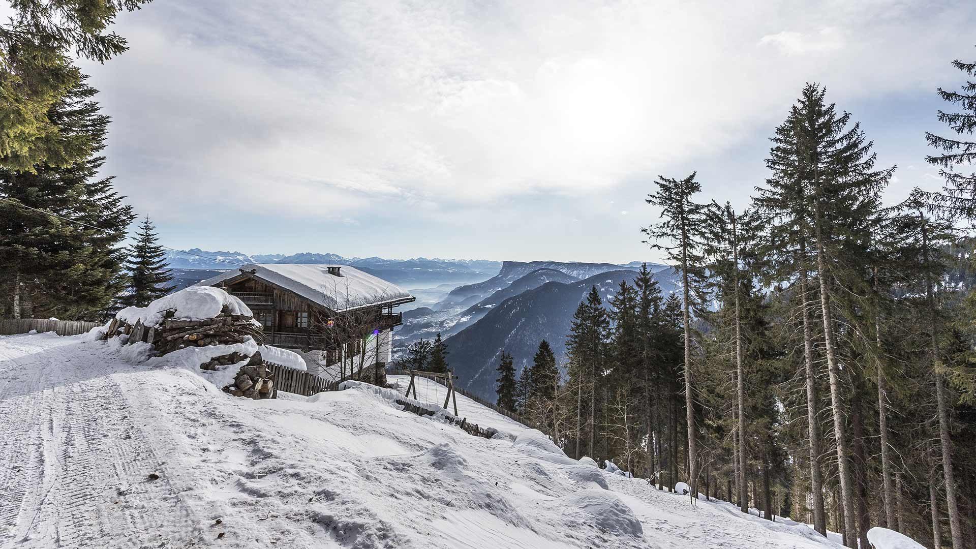 Skigebiet Vigiljoch bei Lana