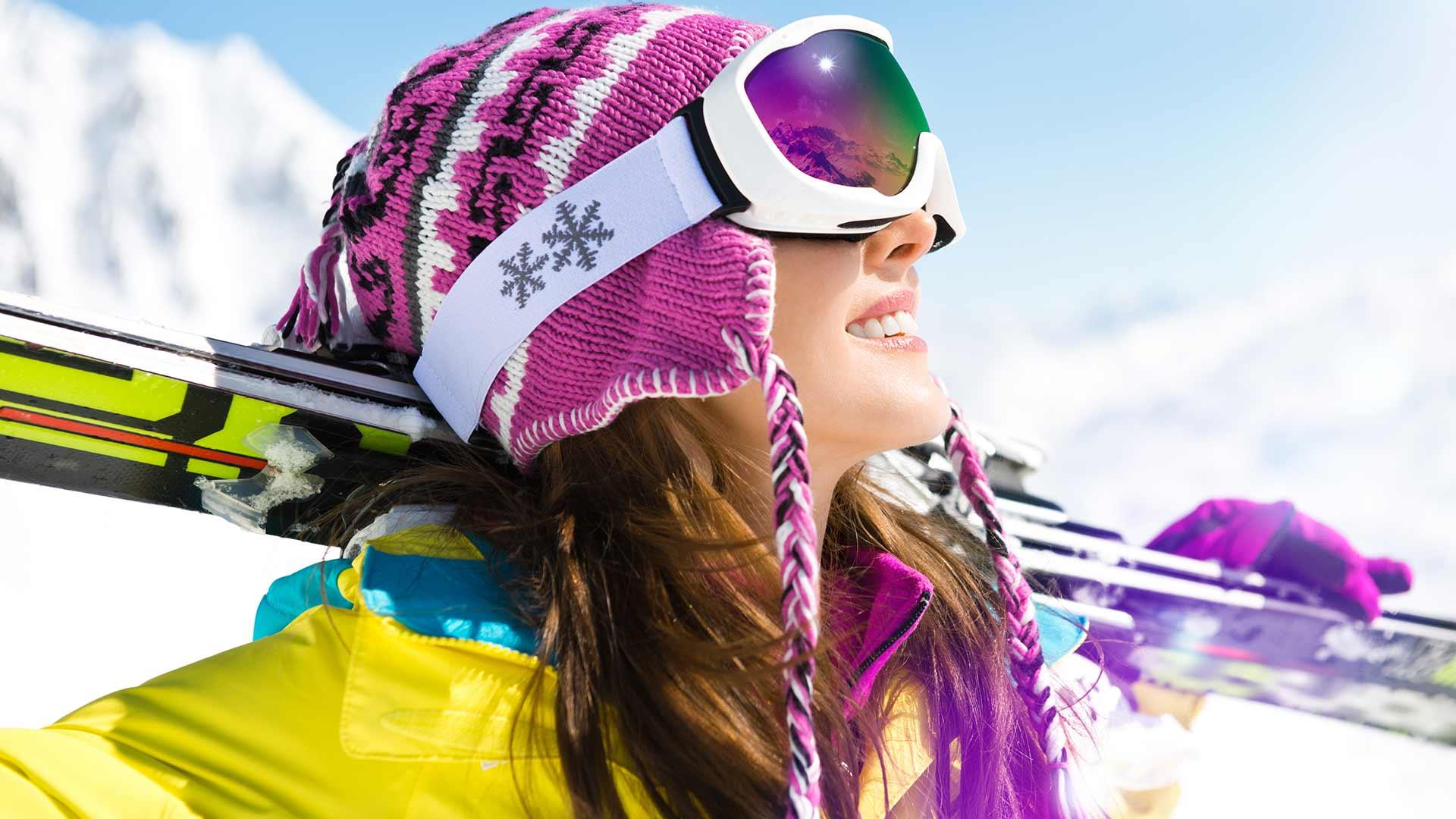 Sonne genießen - Skiurlaub