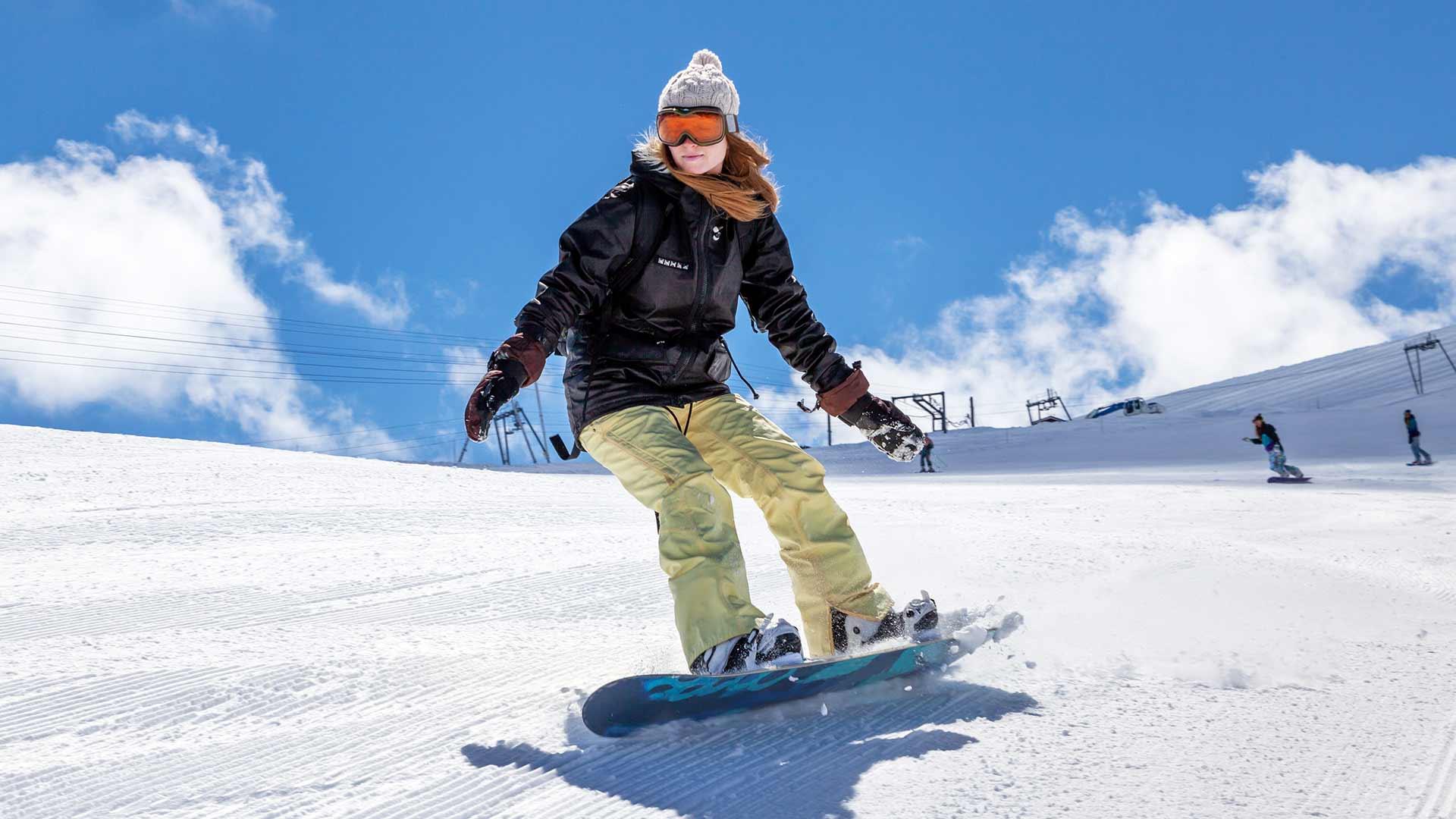 Skiurlaub in Meran & Umgebung - Snowboarden