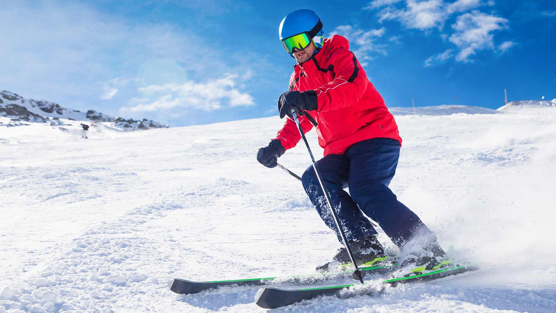 Skifahren in Meran