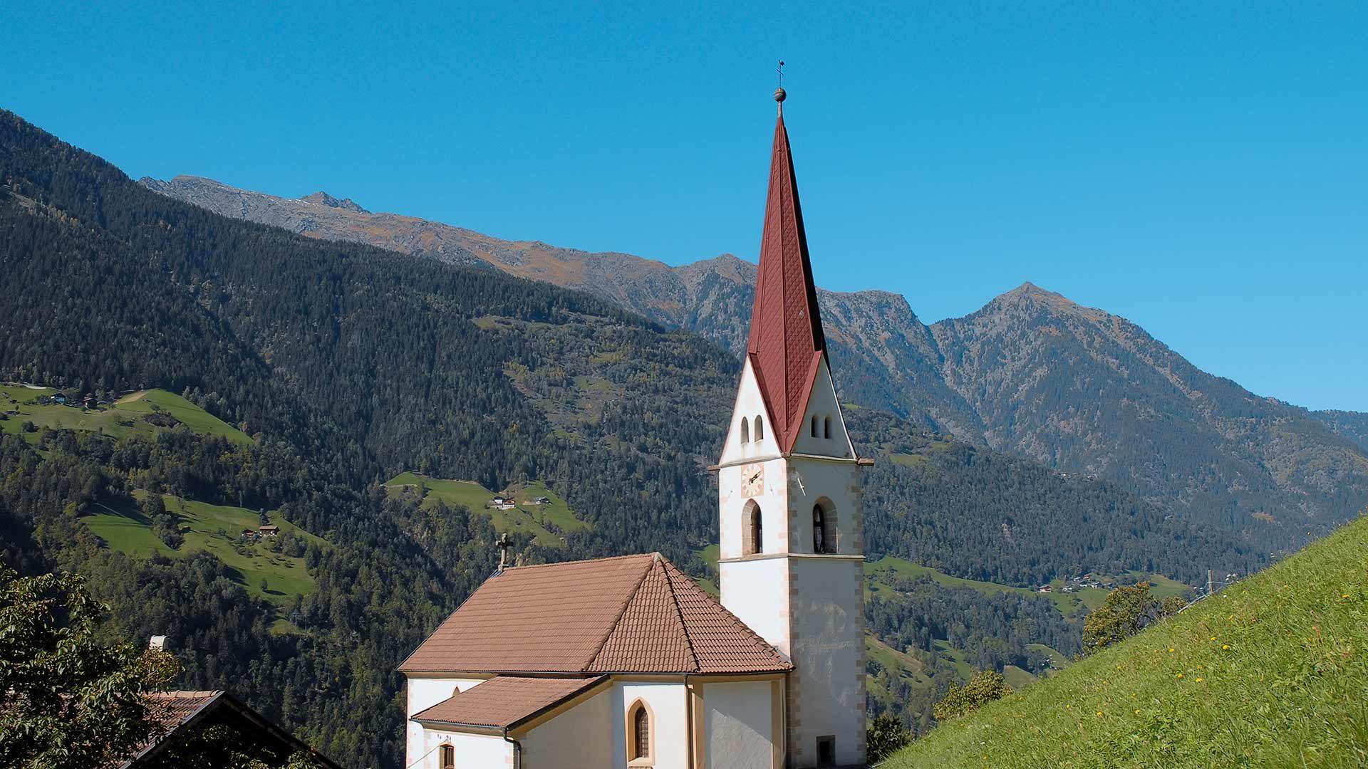 Kirche von St. Martin in Passeier