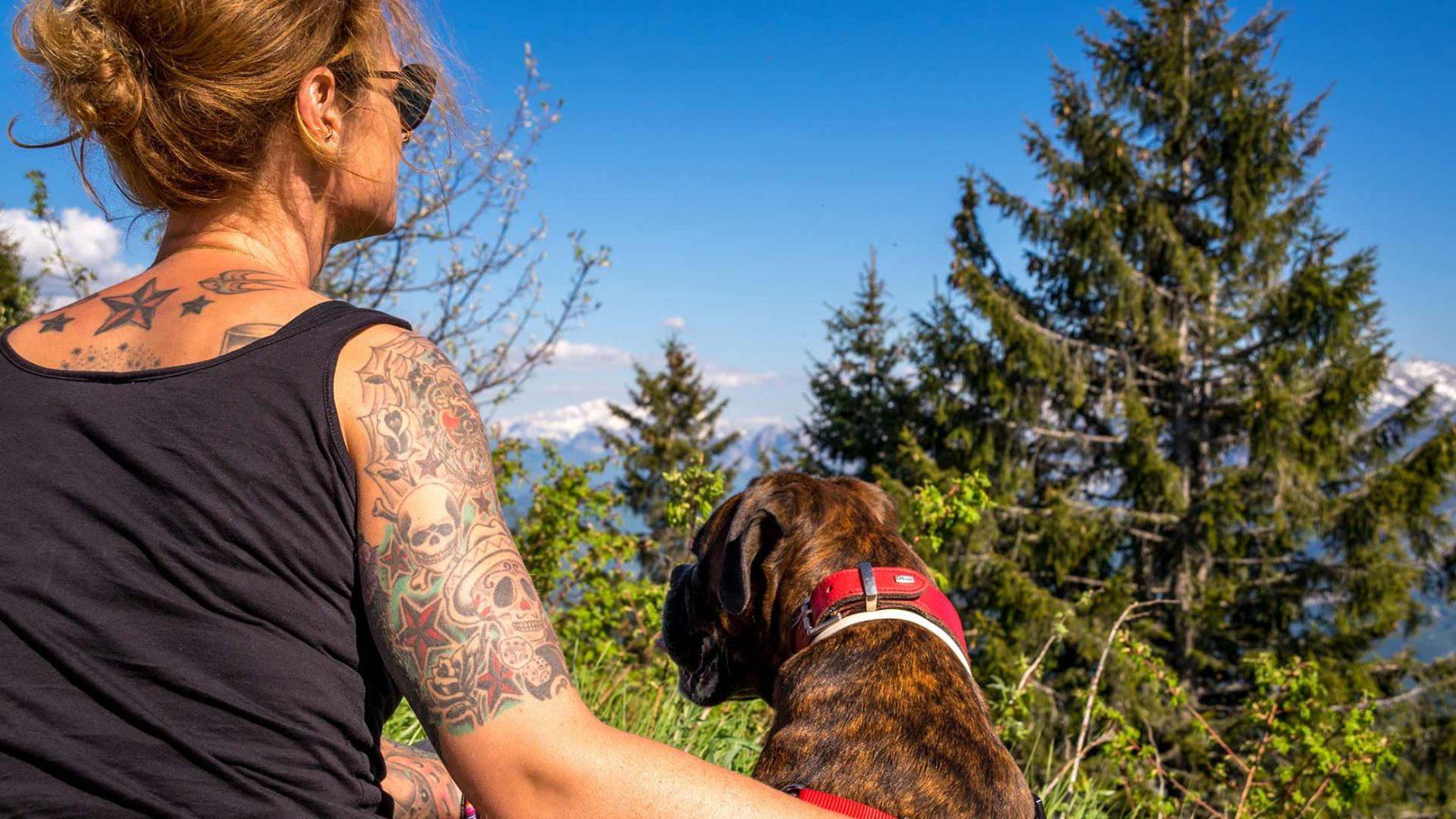 Wandertour mit dem Hund
