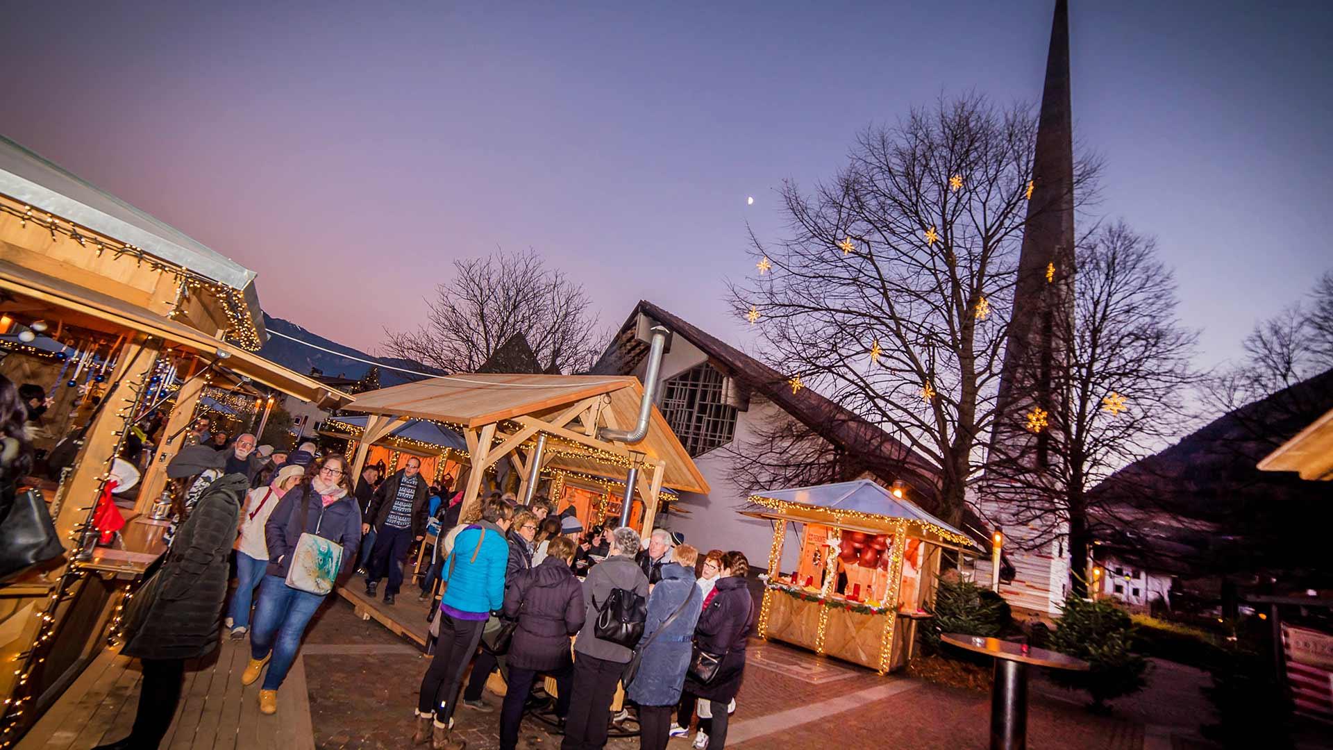 Weihnachtsmarkt in Algund