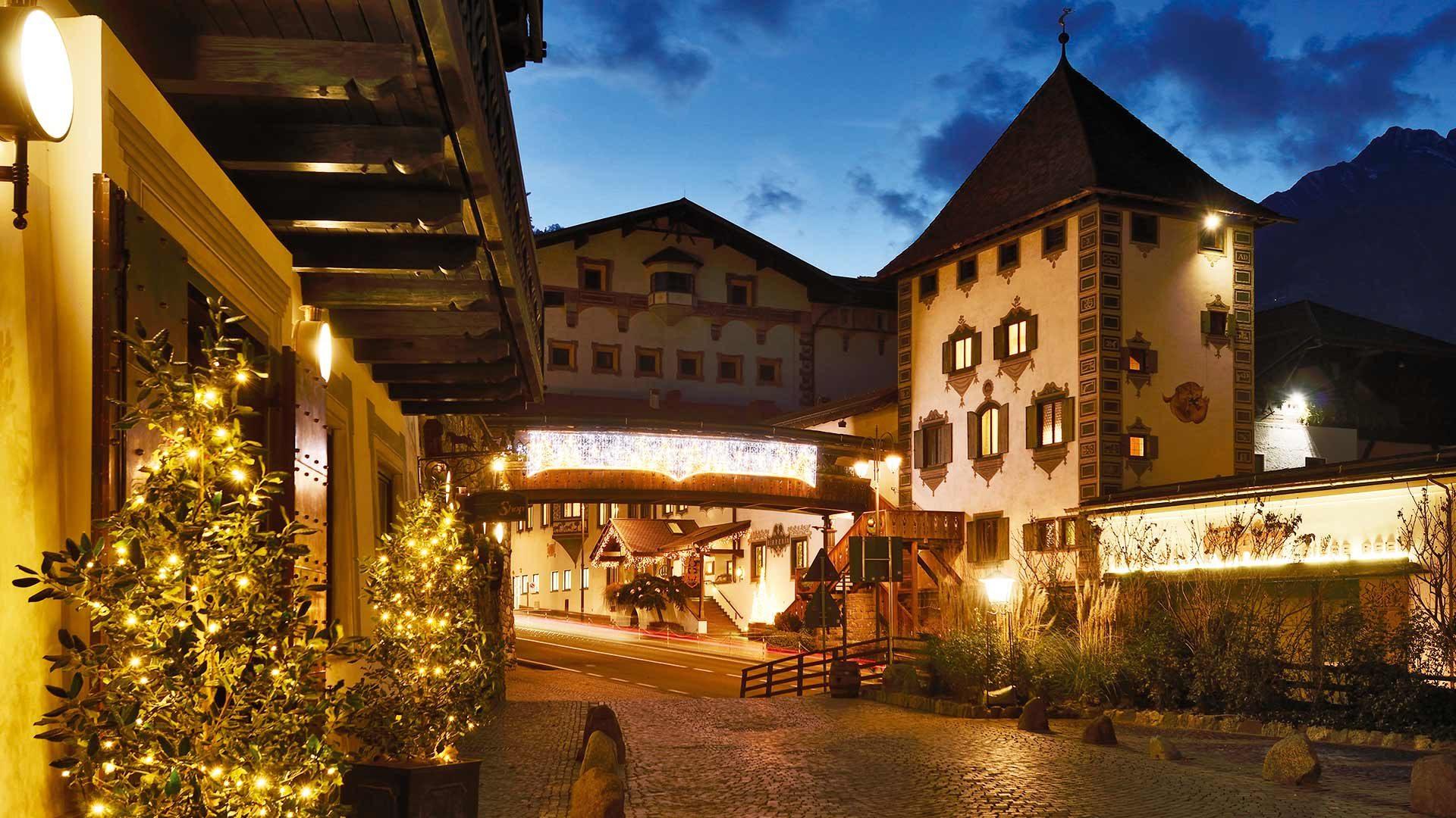Forster Weihnachtswald, Algund
