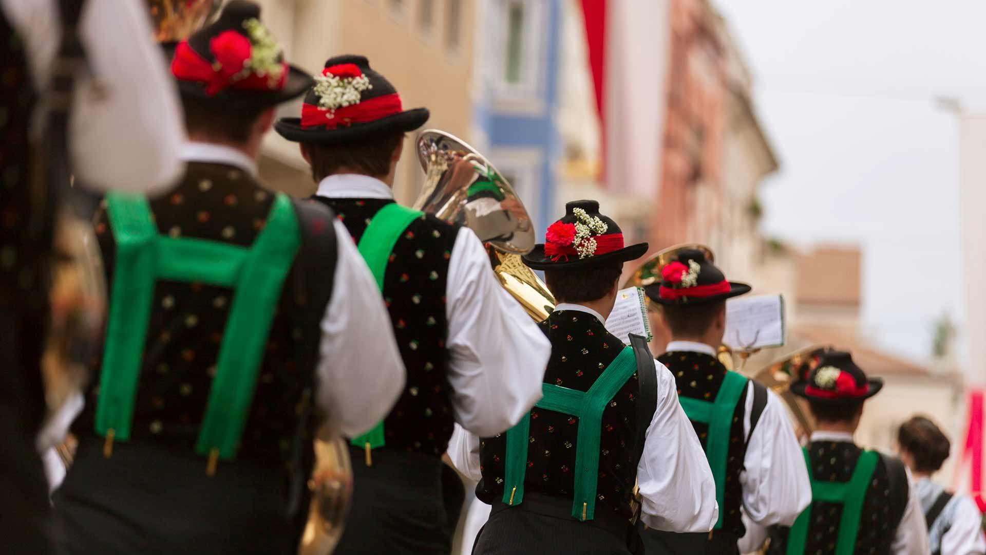 Südtirol - Meraner Traubenfest