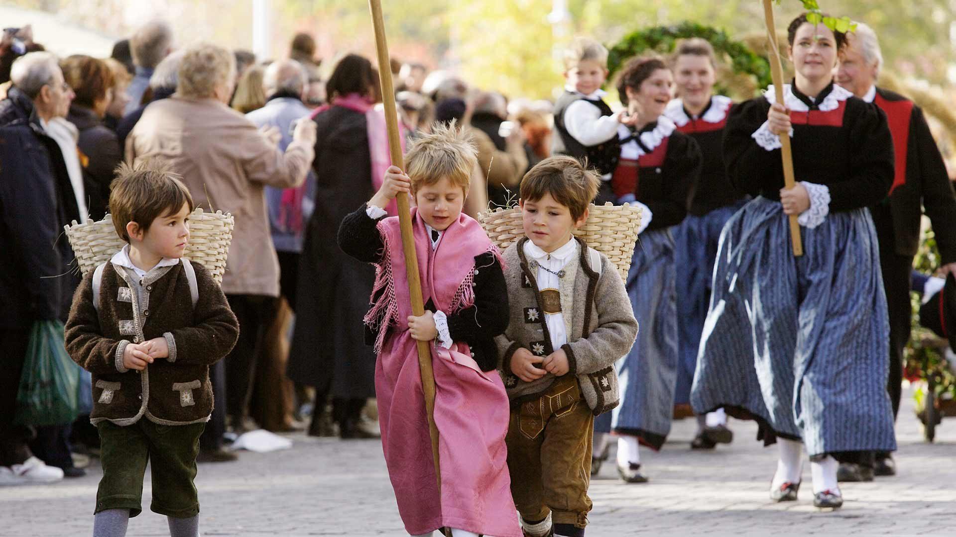Meraner Traubenfest - Großer Festzug
