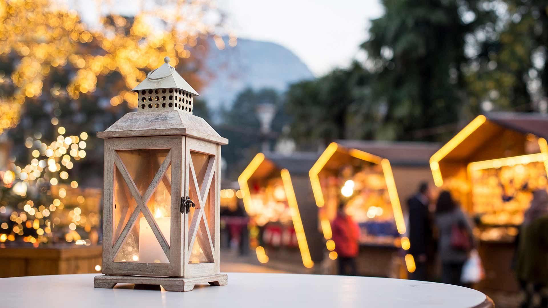 Weihnachtsmarkt Meran - Laterne