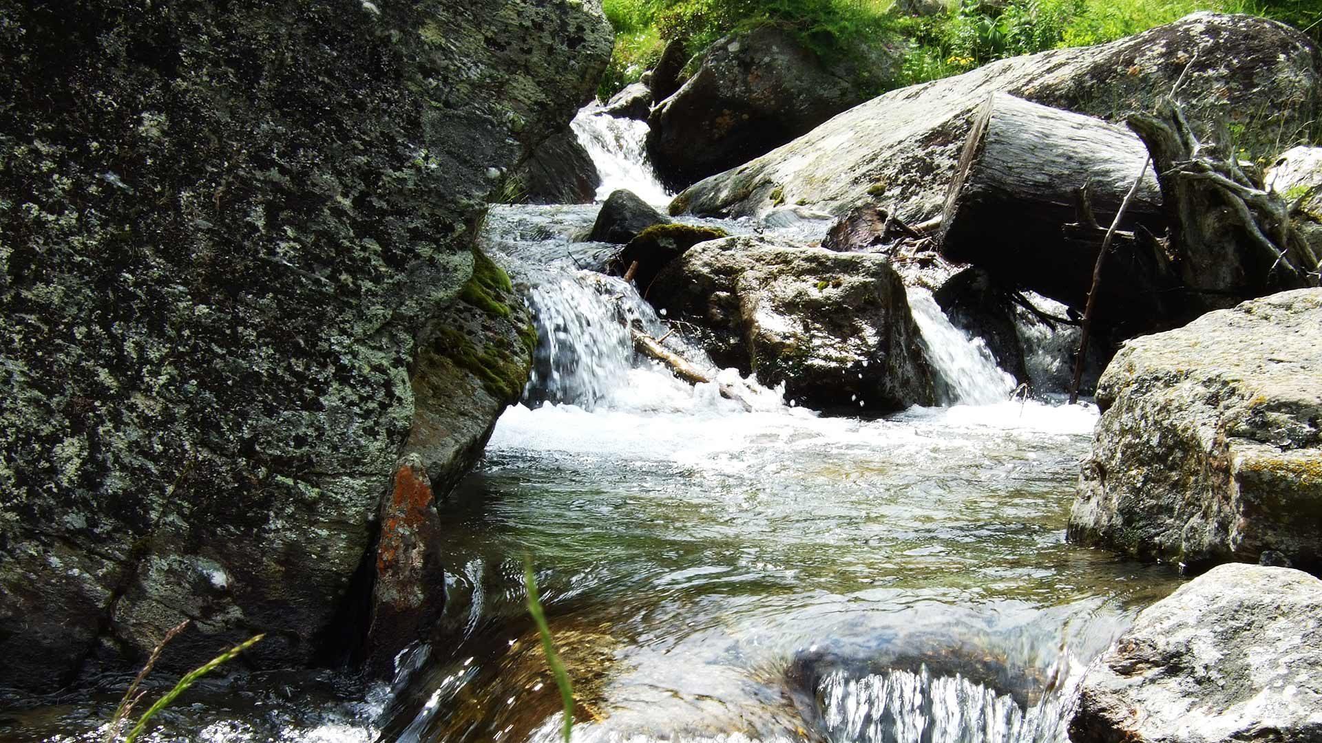 Wanderung zu den Drei Seen im Kirchbachtal