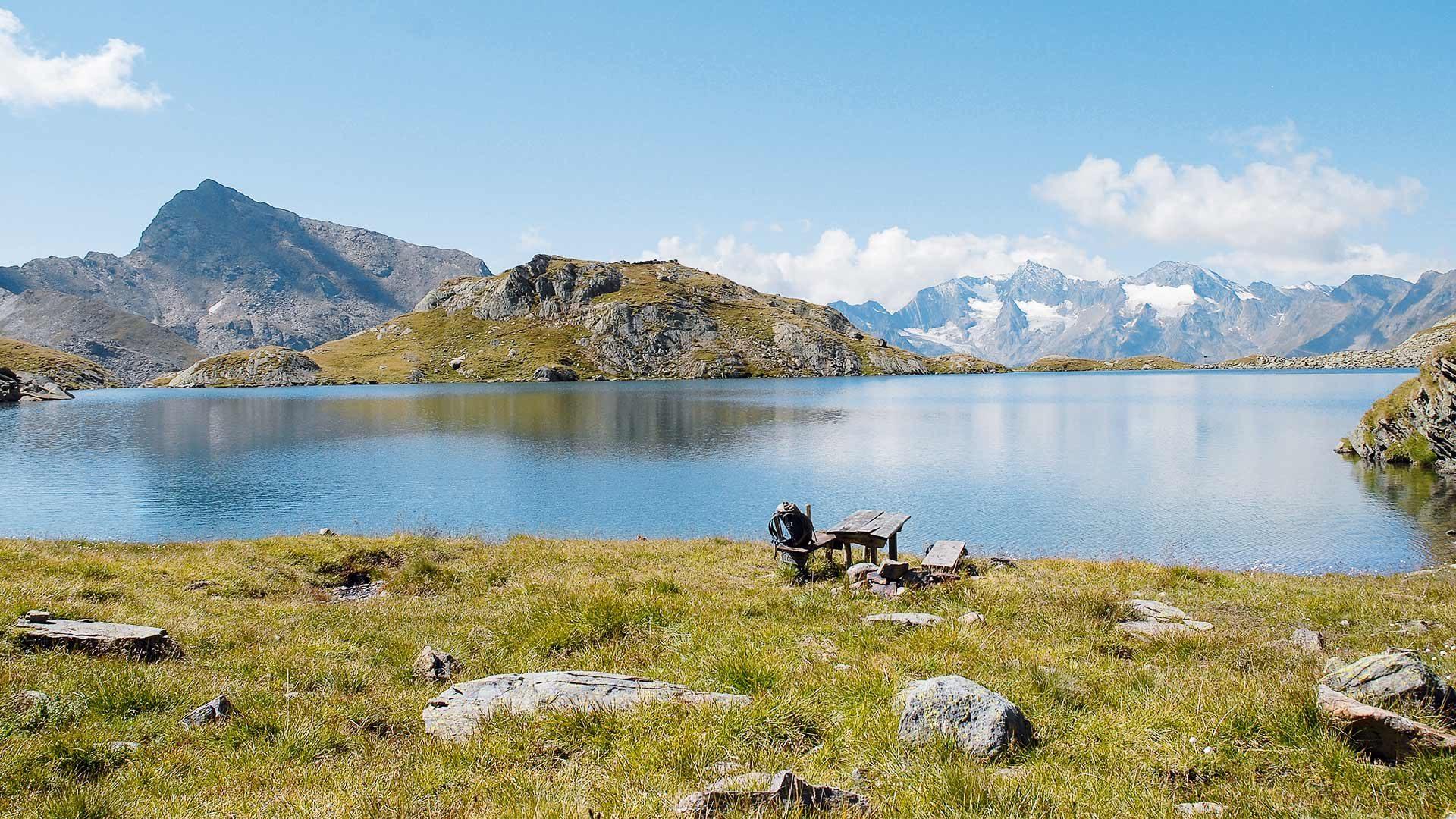 Wanderung auf die Hofmannspitze