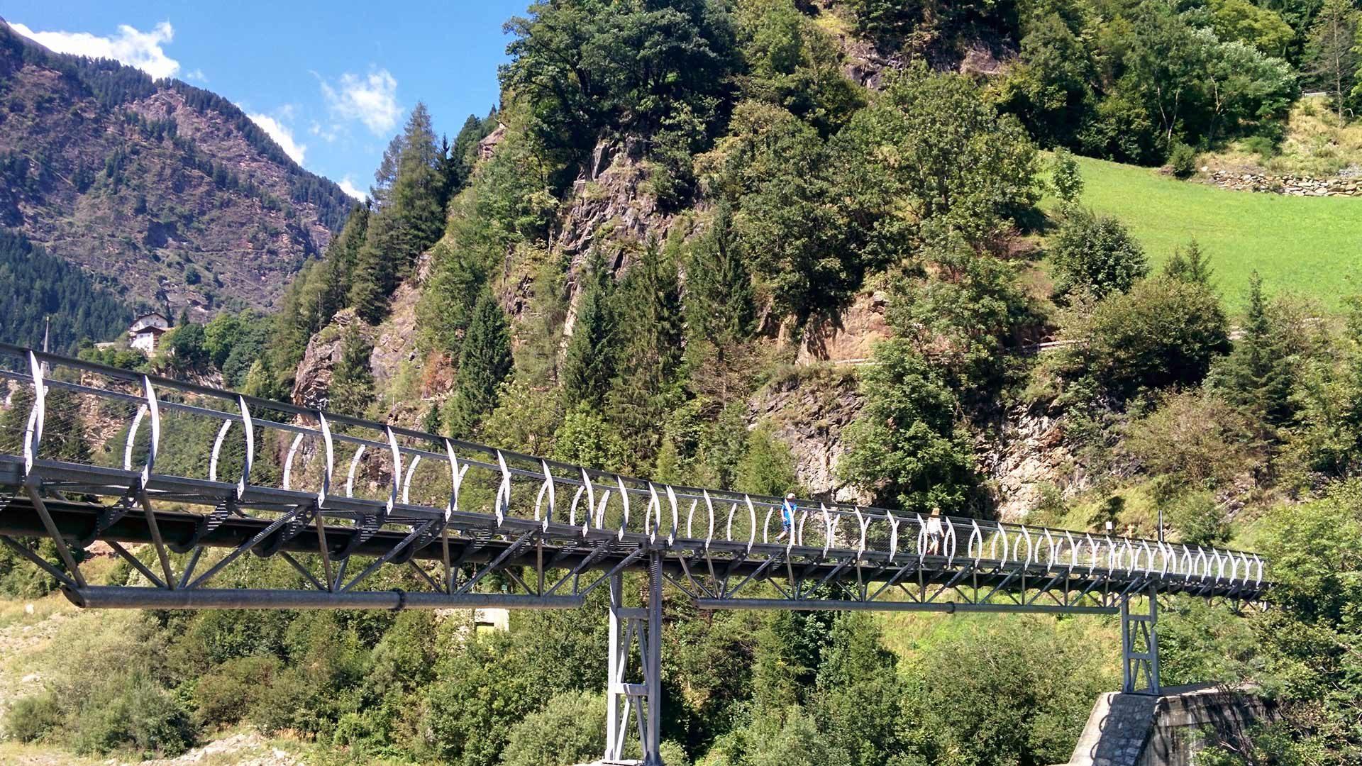 Passerschluchtenweg in Südtirol