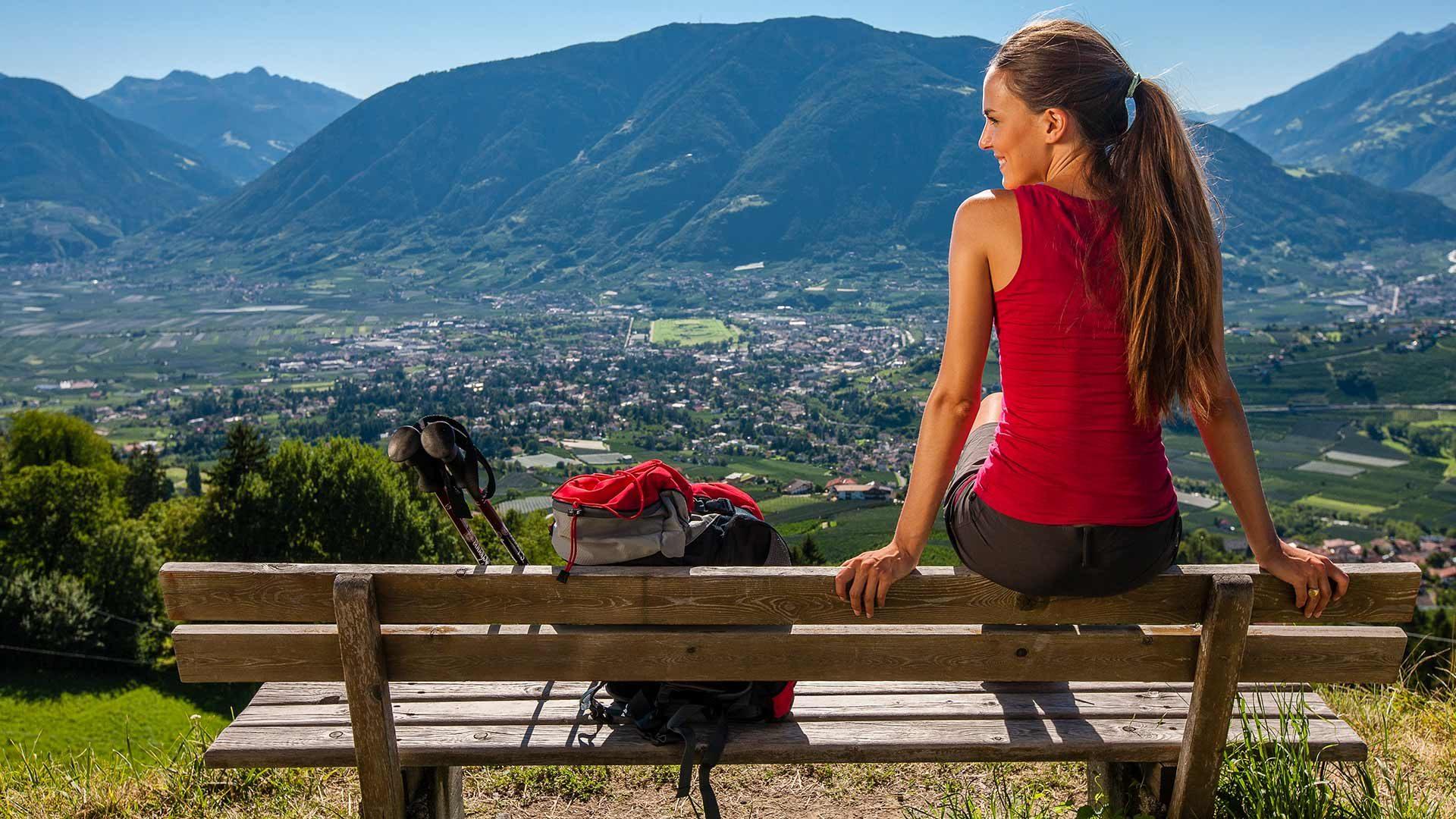 Wanderung Schenna - Dorf Tirol