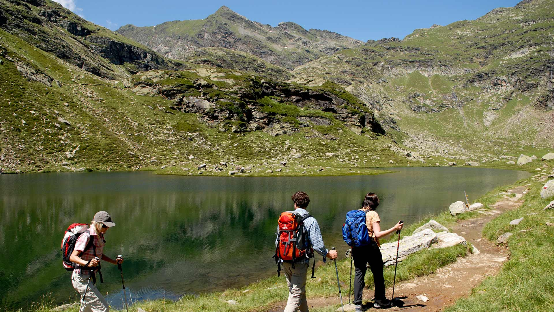 Wanderung Spronser Seen
