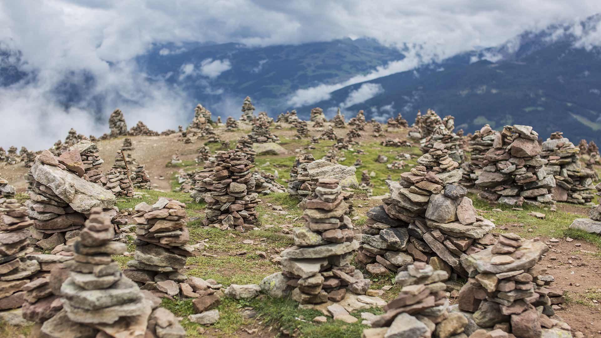 Wanderung zu den Stoanernen Mandlen